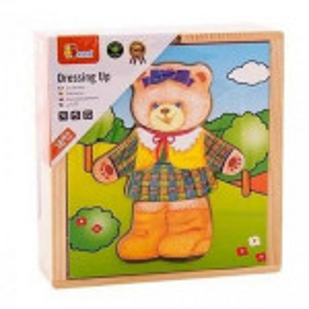 תמונה של פאזל עץ דובי מתלבש