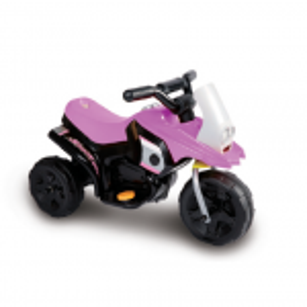 תמונה של 6V אופנוע ממונע לילדים גוק ורוד