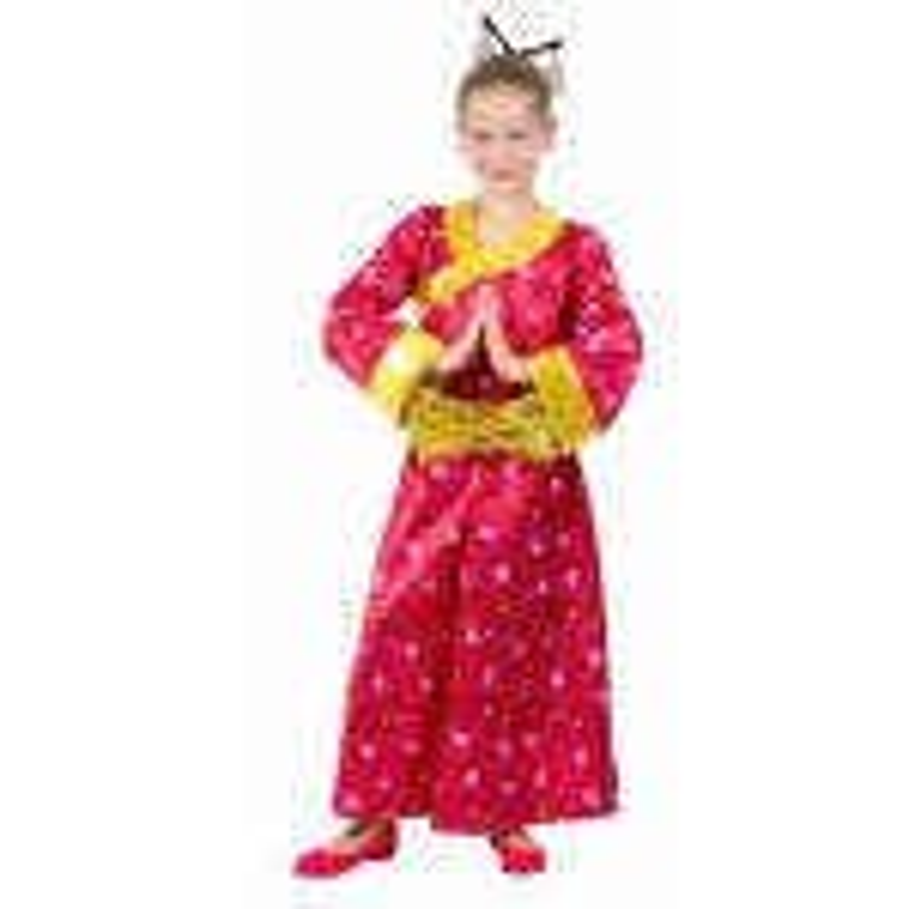 תמונה של תחפושת יפנית אדומה - שושי זהר