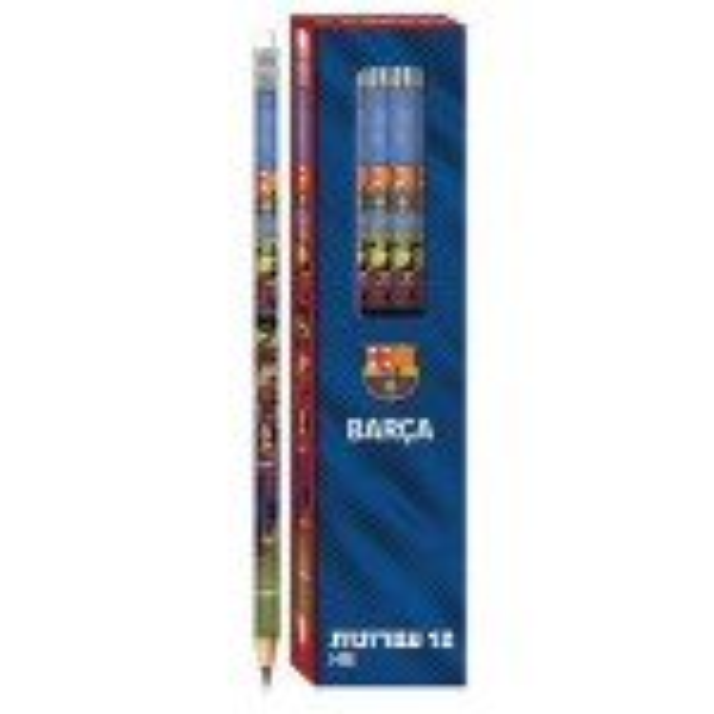 תמונה של סט 12 עפרונות ברצלונה