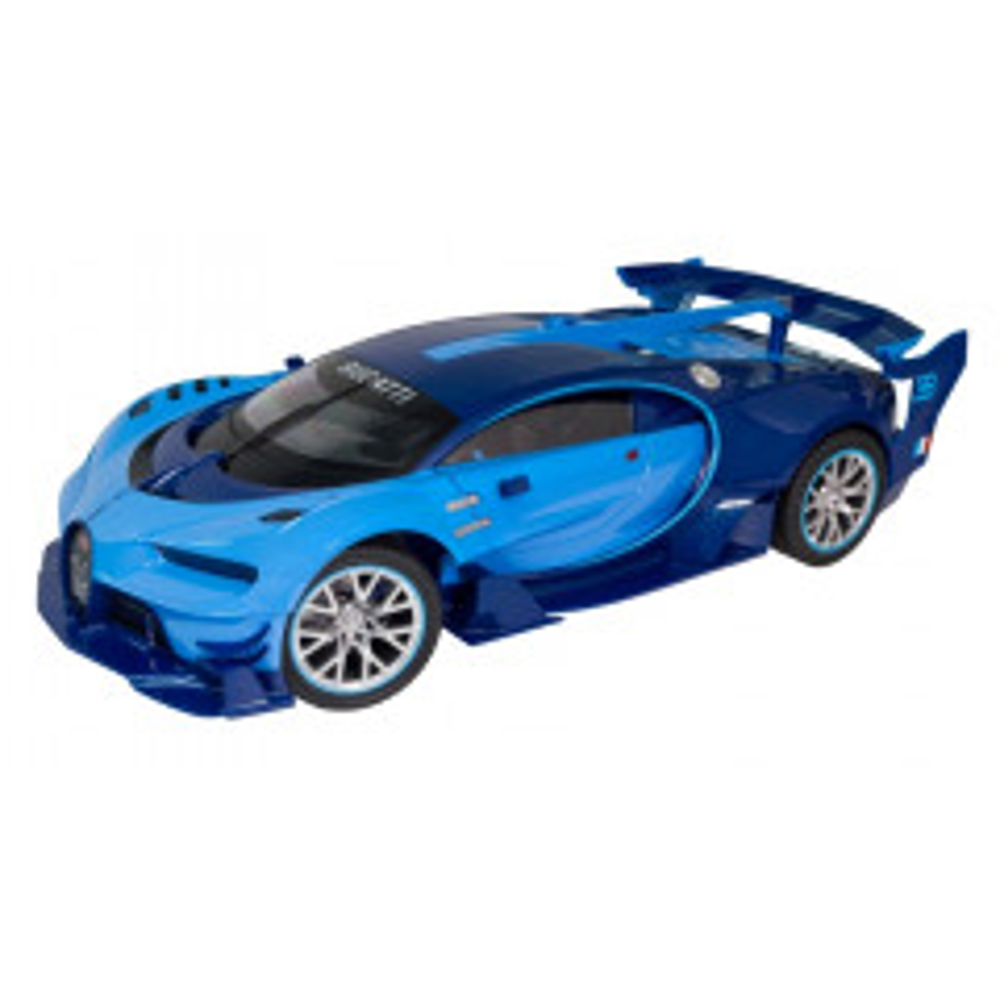 תמונה של מכונית בוגאטי 1:12 עם שלט FL