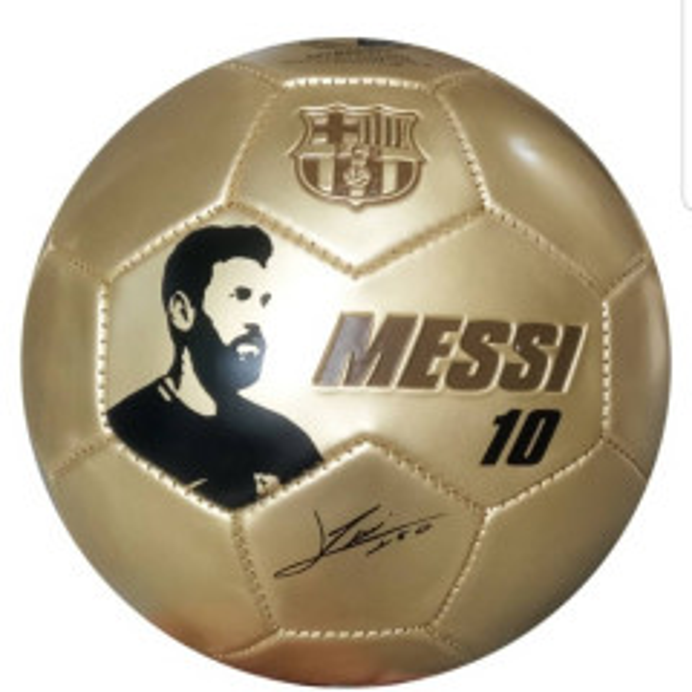 תמונה של כדורגל מסי זהב