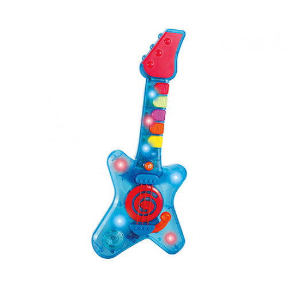 תמונה של הגיטרה הראשונה שלי