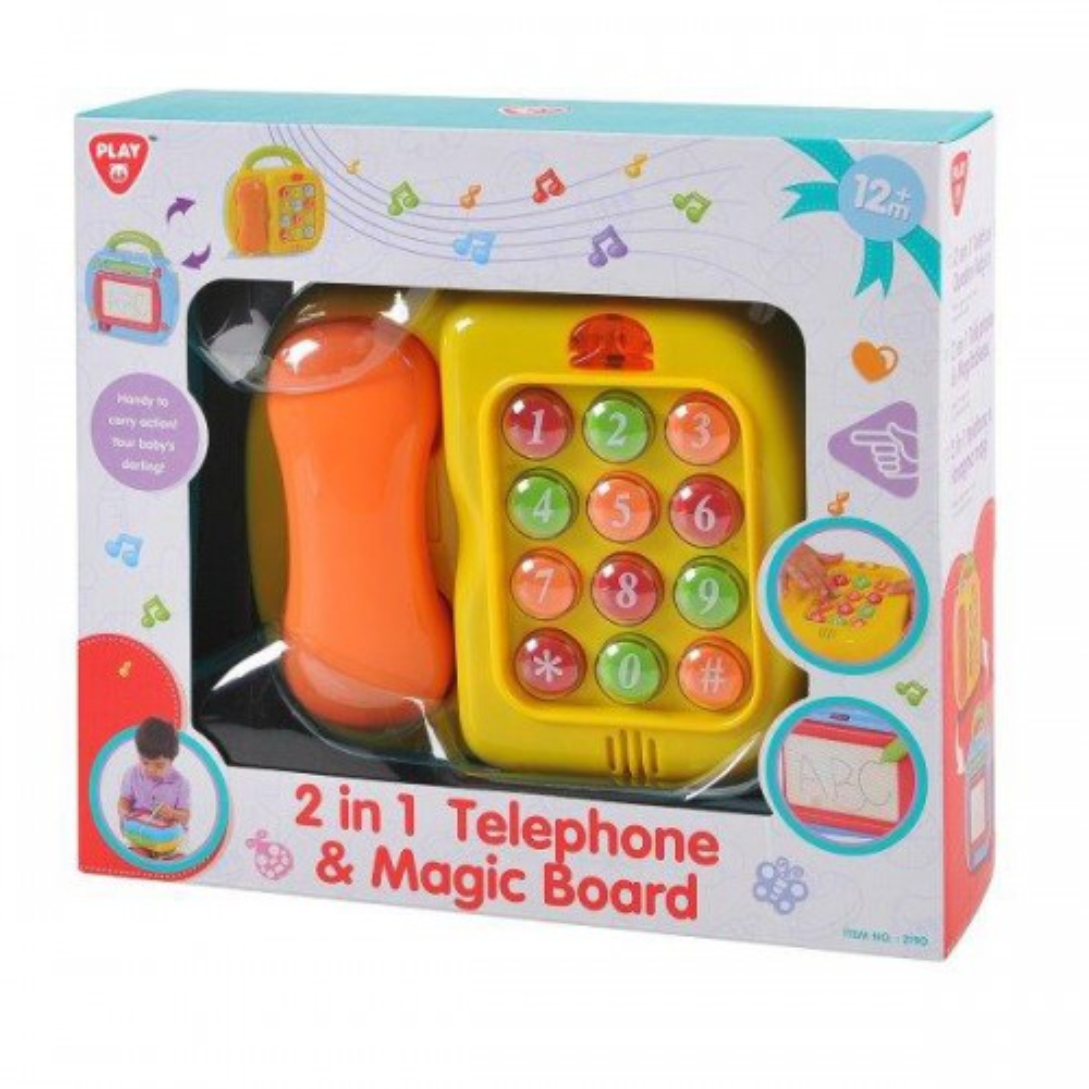 תמונה של טלפון / לוח מחיקה לפעוטות