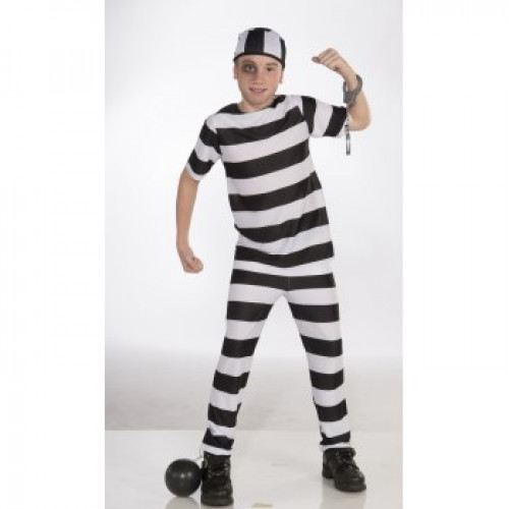 תמונה של תחפושת אסיר מידה S