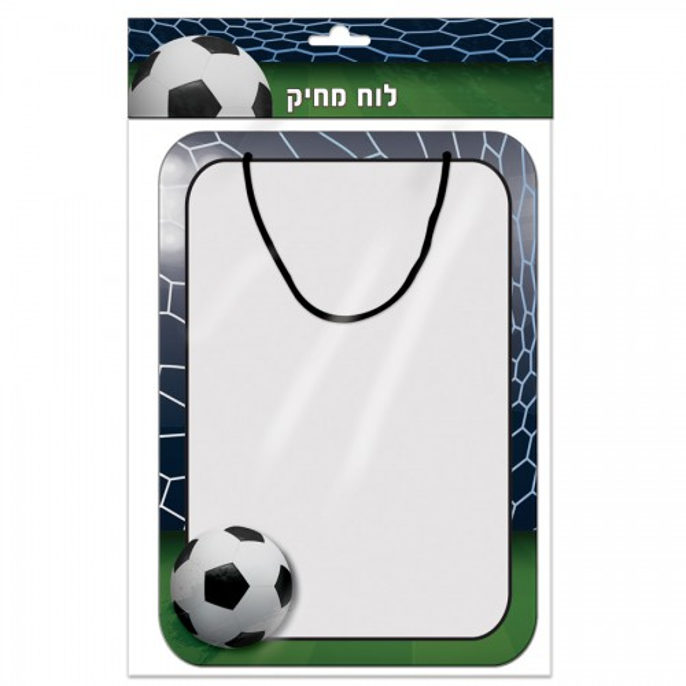תמונה של לוח מחיק כדורגל