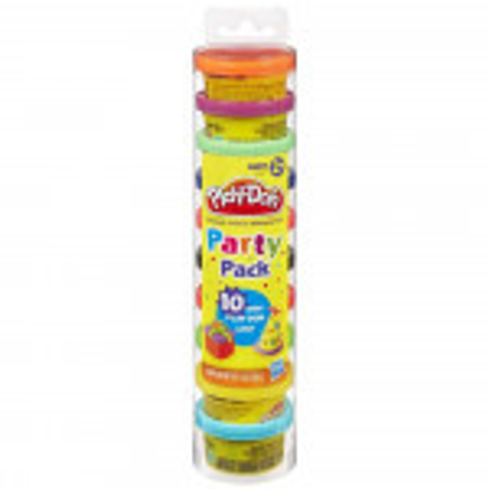 פליידו מארז 10 גביעי בצק בצבעים שונים