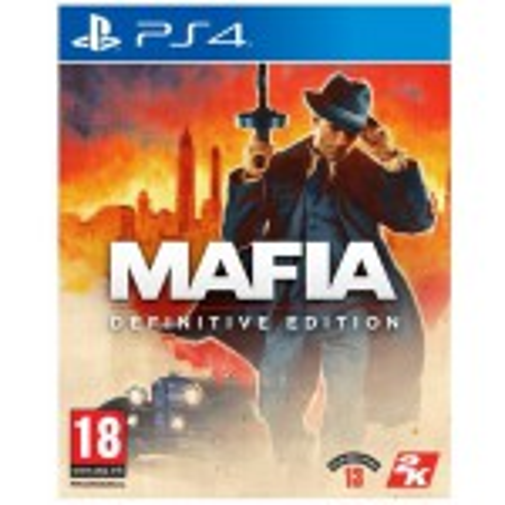 MAFIA I DEFINITIVE EDITION - PS4