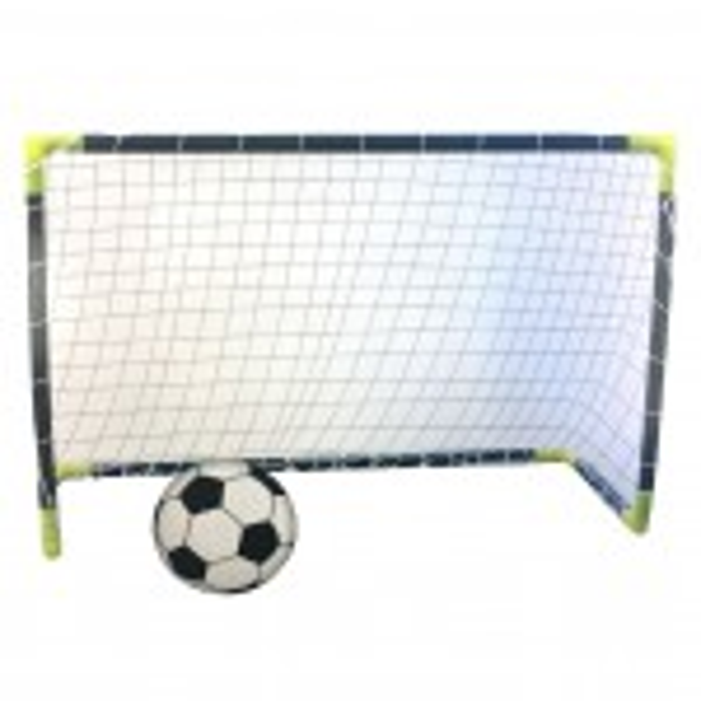 זוג שערי כדורגל 91 סמ עם כדור
