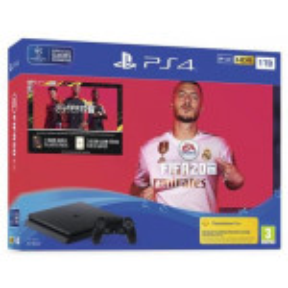 PS4 SLIM 1TB + FIFA20