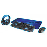 DRAGON PC GAMING 4-1 KIT BLUE