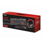 DRAGON PC GAMING COMBO PACK RED