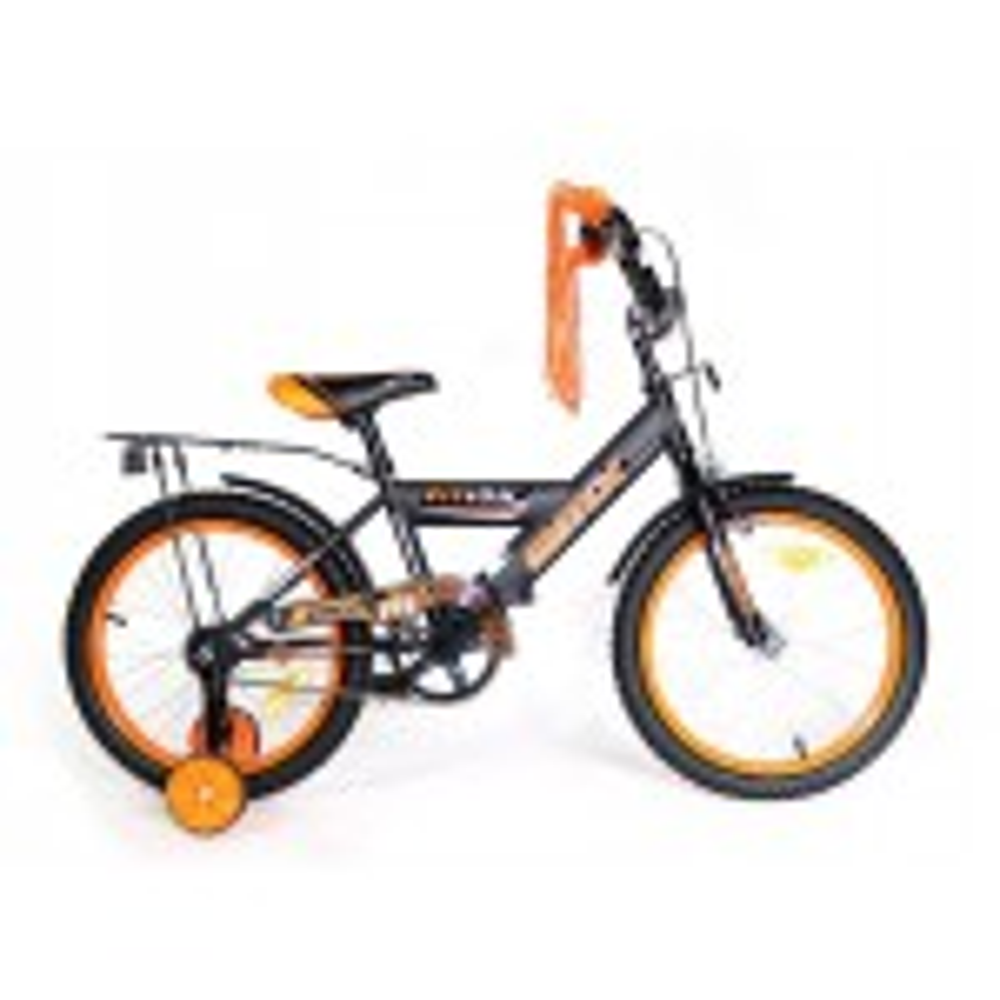 אופניים BMX שחור/כתום 20