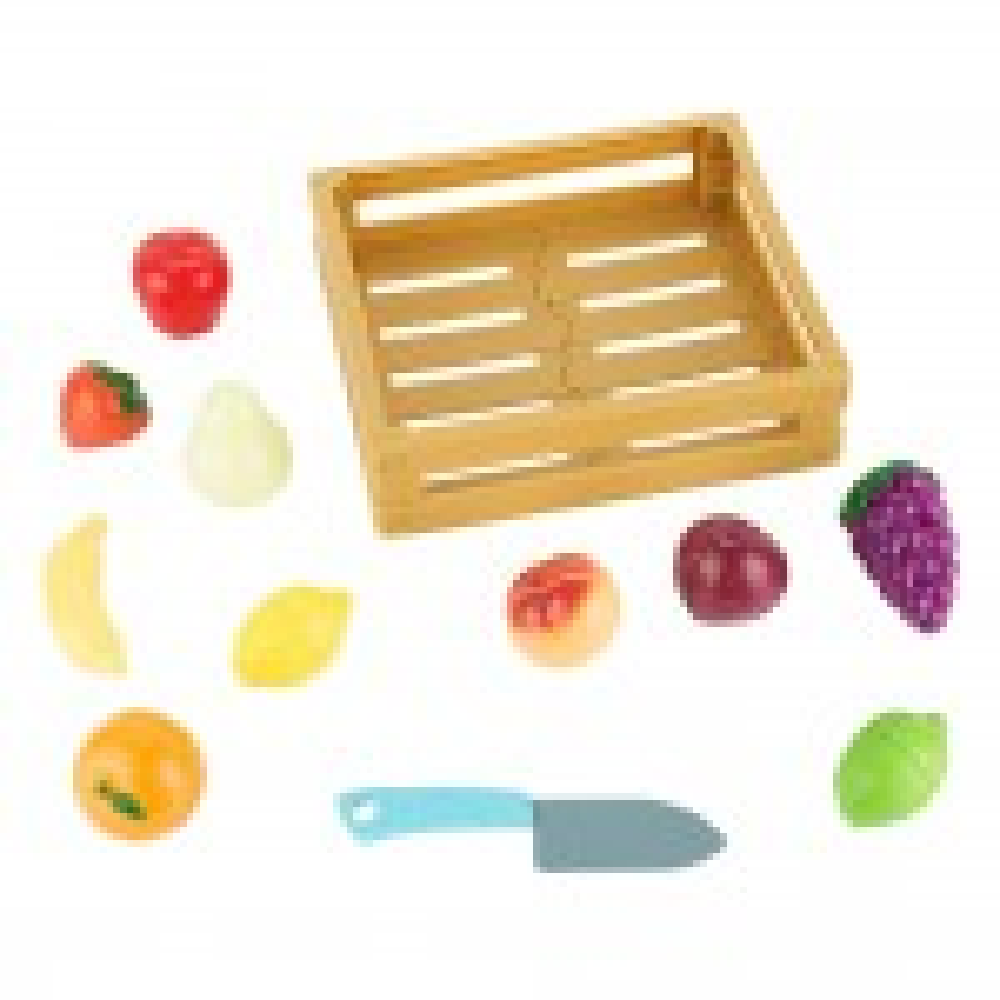 סלסלת פירות/ירקות עם סכין JLH