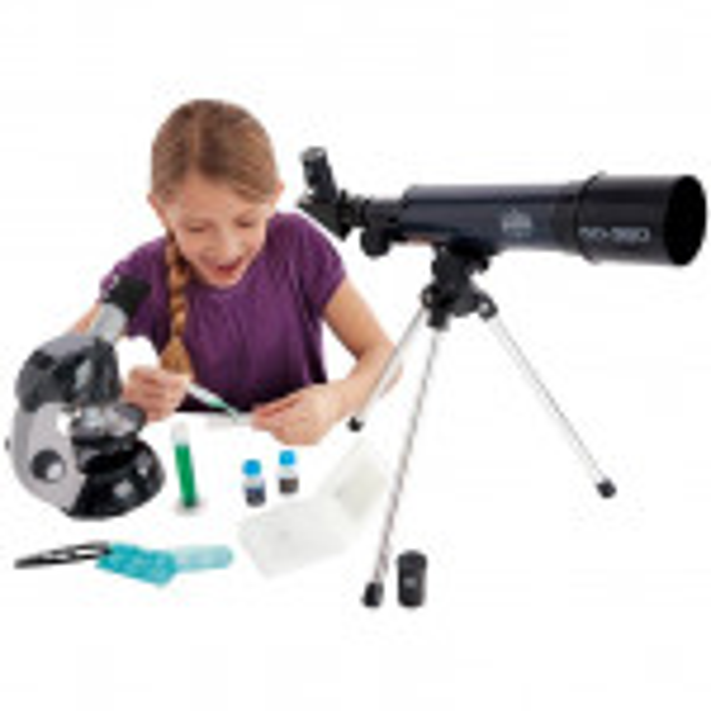 סט טלסקופ+מיקרוסקופ EC
